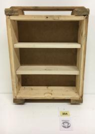 Munitiekist kastje met 2 planken (No. 254)