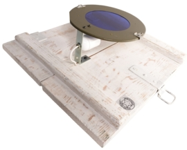 Wandlampje Police Wit (alléén LED-lampen gebruiken)