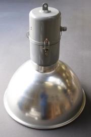 Fabriekslamp R.A.I. Alu kap, opbouw staal #3899