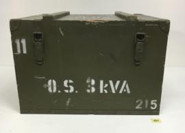 Grote Hoge groene kist no.451