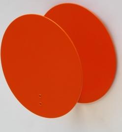 Wandlampje Round & Round Orange