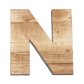 Letter - N -