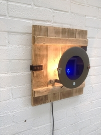Wandlamp Police Blank (alléén LED-lampen gebruiken)