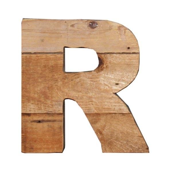 Letter - R -