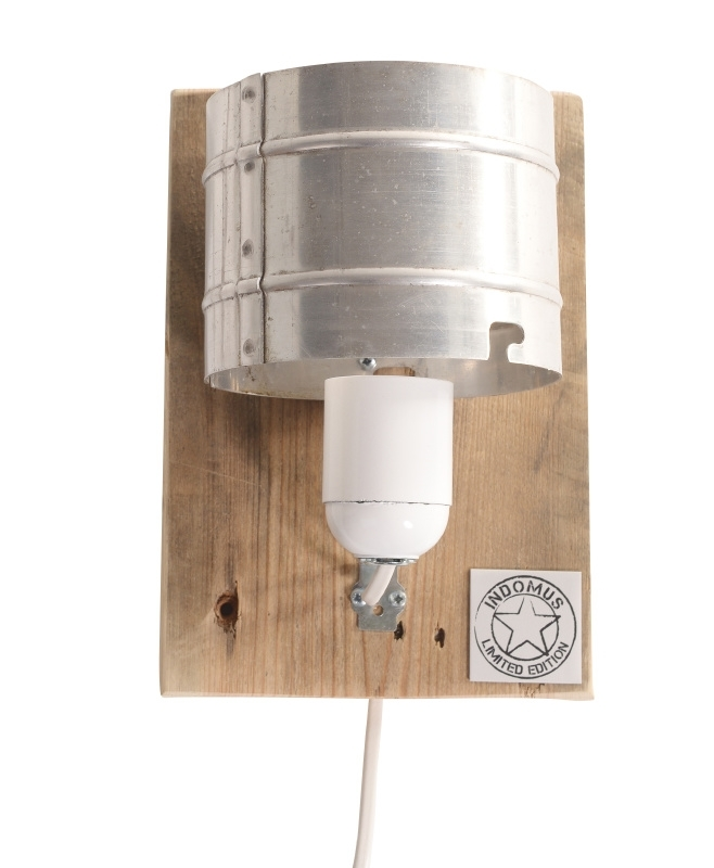 Alu WandLamp / Blank paneel (alléén LED-lampen gebruiken)