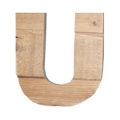 Letter - U -