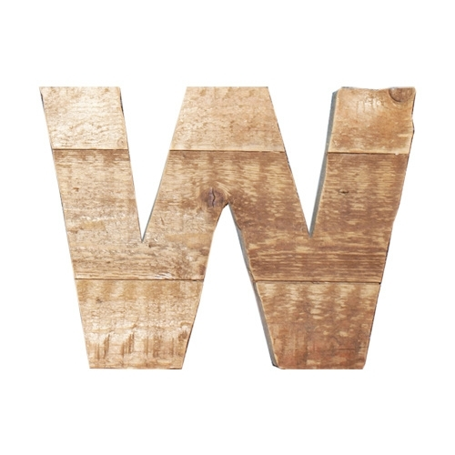 Letter - W -