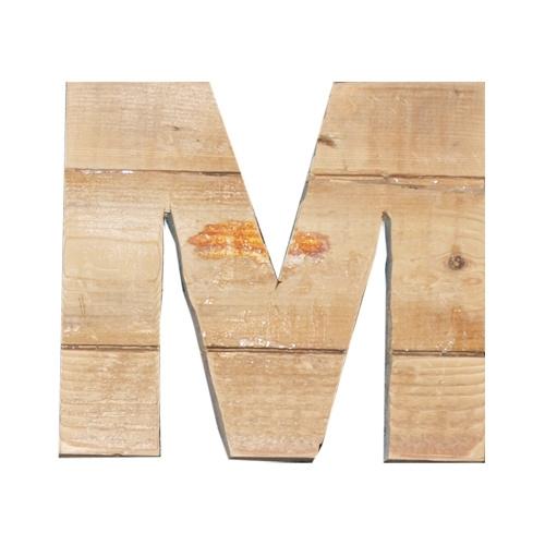 Letter - M -