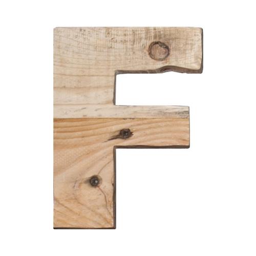 Letter - F -
