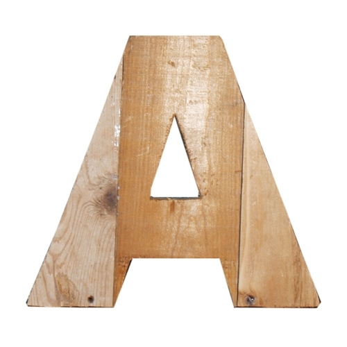 Letter - A -