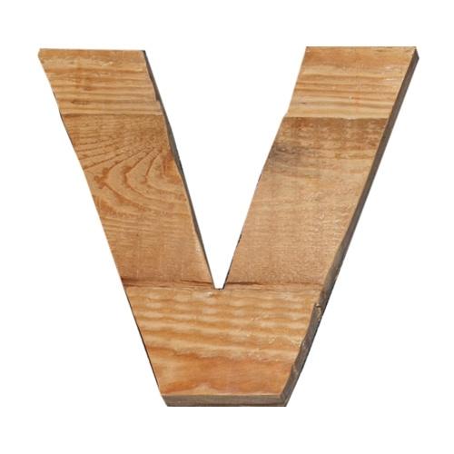 Letter - V -