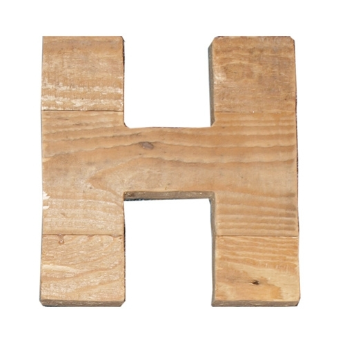 Letter - H -