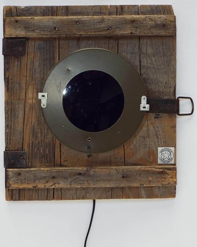 Wandlamp Police Groen (alléén LED-lampen gebruiken)