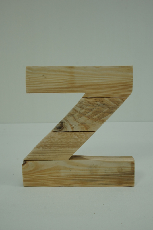 Letter - Z -