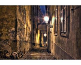 Fotobehang Straat in de Stad