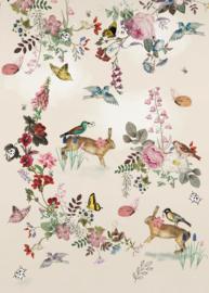 Sofie & Junar INK7621 Vintage Fairytale afmeting 200cm x 280cm hoog
