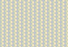 Fotobehang Blauw-groen ruit patroon