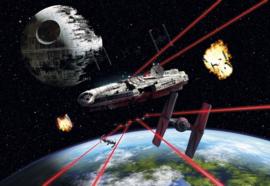 Komar fotobehang 8-489 Star Wars Millenium Falcon