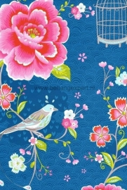 Eijffinger Pip Studio behang 313015 Birds in Paradise Blauw
