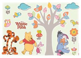 Wandsticker Winnie Pooh Nature Lovers 14014