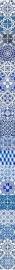 Fotobehang Esta Ginger 158002 grote tegel Delfts Blauw