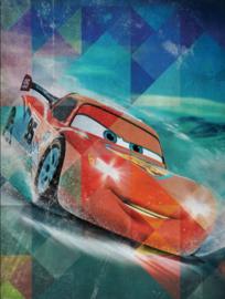 fotobehang Ice Racer Cars afmeting 206cm x275cm hoog