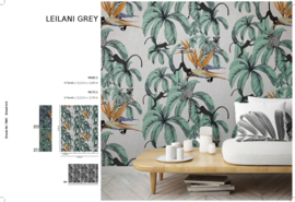 Fotobehang Smart Art Leilani Grey 46711