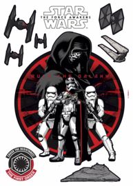Wandsticker Starwars First Order 14024