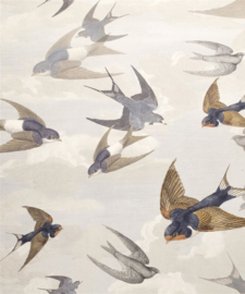 John Derian for Designers Guild PJD6003/04 Chimney Swallows
