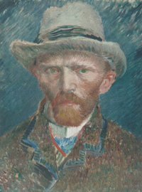 Dutch Painted Memories 8015 Self portrait Vincent van Gogh