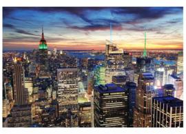 Fotobehang NY wolkenkrabbers