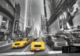 Fotobehang AG Design FTS1310 Yellow Cab