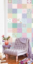 Posterbehang Eijffinger Rice 359154 Wonderful patchwork