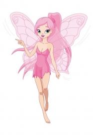 Dutch Digiwalls Fotobehang - Olly art. 13072 Pink Fairy