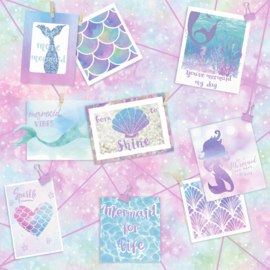 Over the Rainbow 12790 Be More Mermaid Multi