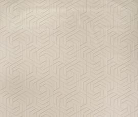 Osborn & Little Metropolis Vinyls  W7352-03 Hexagon Trellis