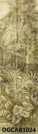 Khrôma Cabinet of Curiosities DGCAB1024 afm. 127cm x 300cm hoog Wander Leaf