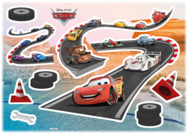 Wandsticker Cars Track 14056