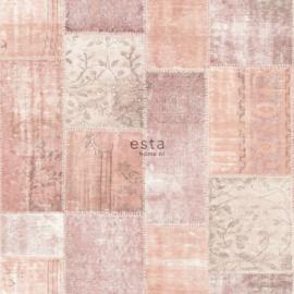 Esta Boho Chic 148651 biza marrakech kelim patchwork tapijt