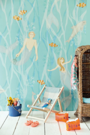 Eijffinger Wallpower Junior 364150 Mermaids Azur