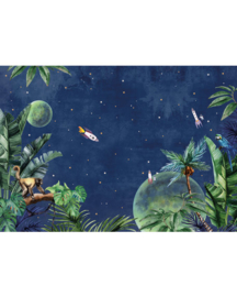 Creative Lab Amsterdam From Jungle To Space  400cm x 280cm hoog
