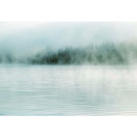 Fotobehang Nevel op het Water