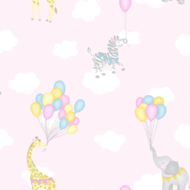 Over the Rainbow 91040 Animal Balloons Pink