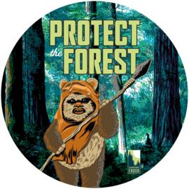 Komar Into Adventure DD1-015 Star Wars Protect the Forest cirkel zelfklevend 125cm