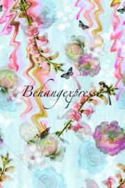 Fotobehang ColorChoc INK 6054 Floral