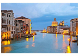 Fotobehang Canal Grande Venetië