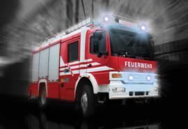 Fotobehang Brandweerauto
