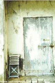 Behang Eijffinger Un Bisou 365113 La Porte de L'Ancien Jardin