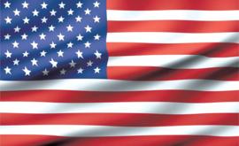 Fotobehang vlag USA