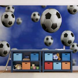 Fotobehang Voetballen